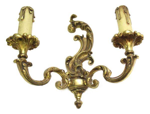 Ornate Bronze Sconce