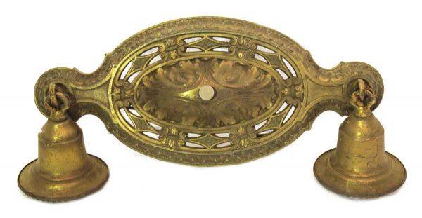 Heavy Cast Brass Ceiling Mounted Light Fixture