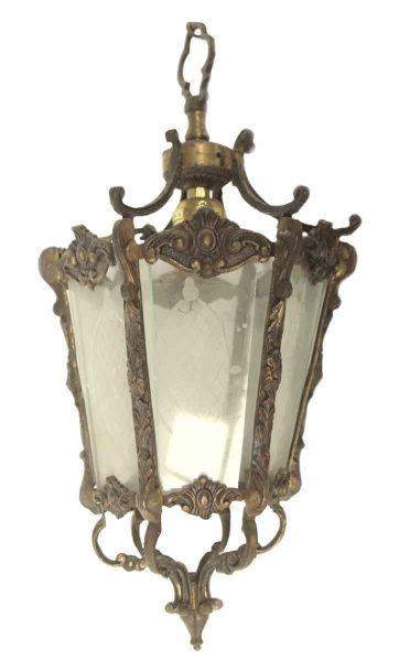 Spanish Style Brass Pendant Lantern