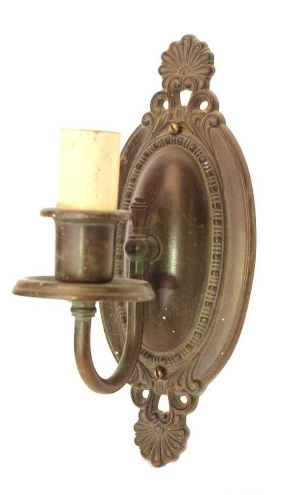 Single Arm Bronze Wall Sconce
