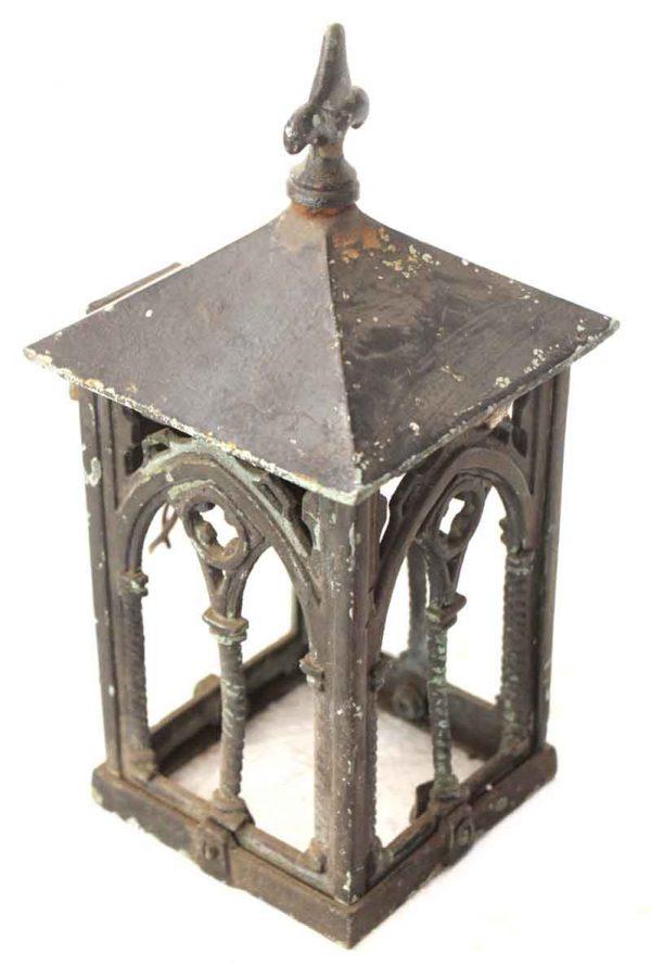 Petite Exterior Bronze Gothic Lantern