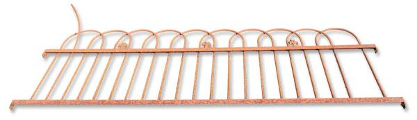 Section of Iron Fencing
