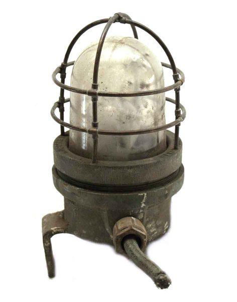 Vintage Bronze Tug Boat Light