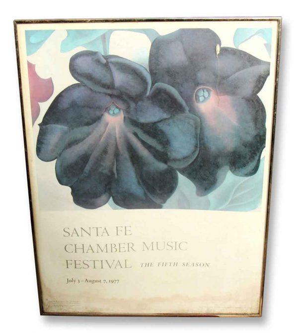 Santa Fe Chamber Music Festival Poster