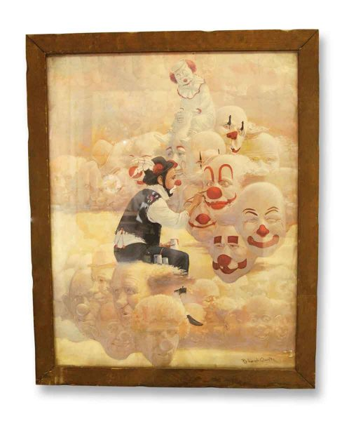 Robert Owen Clown Portrait