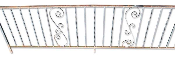 Vintage Wrought Iron Balcony Railing Pieces