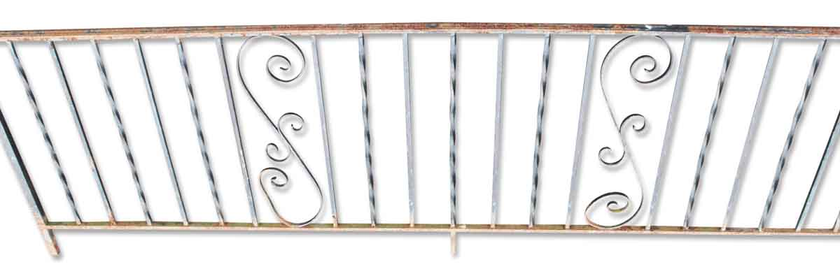 Vintage Wrought Iron Balcony Railing Pieces Olde Good Things