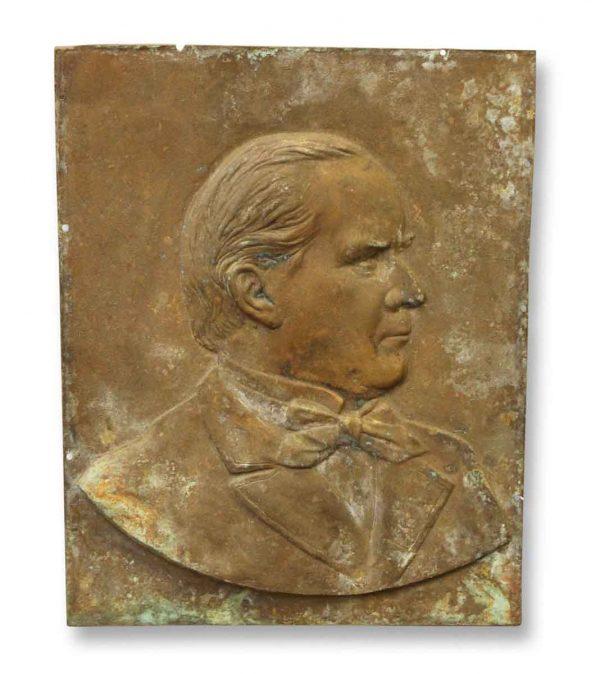 Bronze Relief Portrait