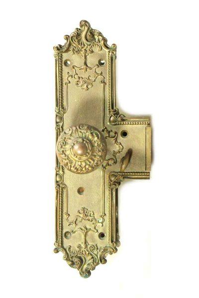 Bronze Ornate Entry Knob Set