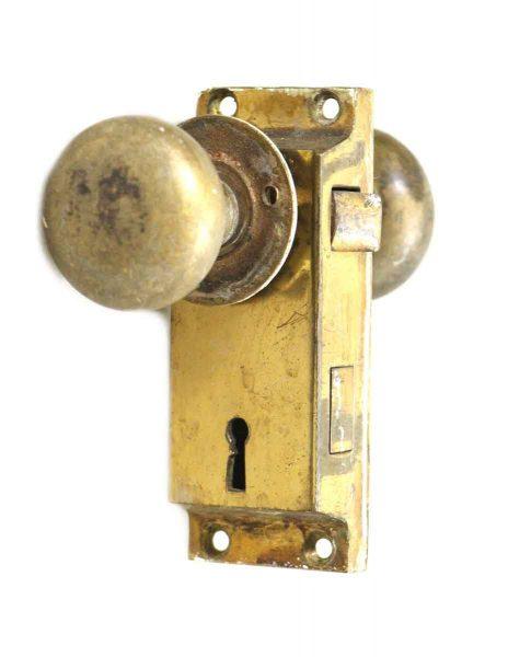 Brass Screen Door Knob Set