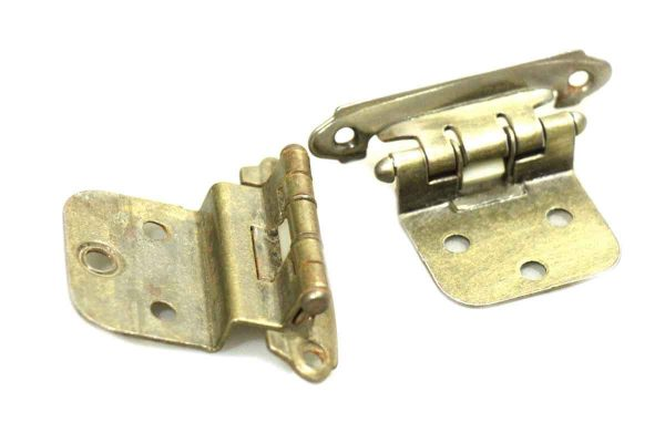 Pair of Brass Furniture Hinges