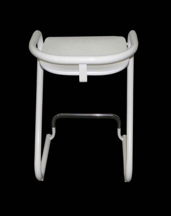 Modern White Tubular Chair Set