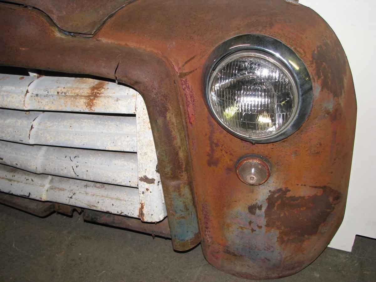Antique General Motors Truck Front Olde Good Things