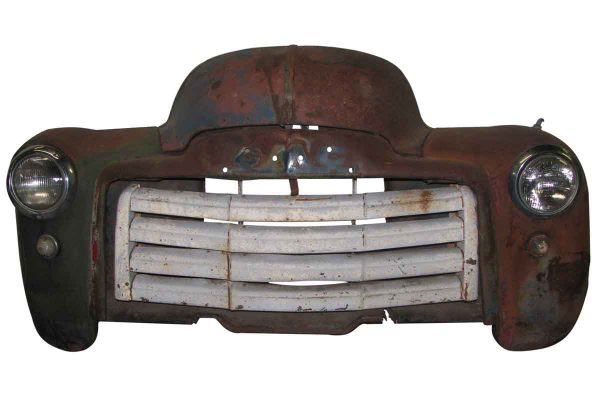 Antique General Motors Truck Front