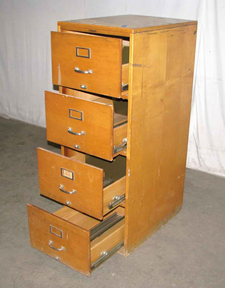 Antique Maple File Cabinets | Olde Good Things on Maple Cabinets  id=11532