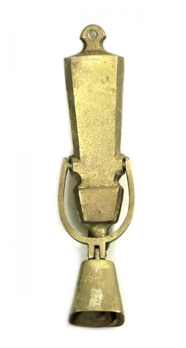 Brass Knocker with Bell