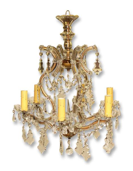 Marie Therese Crystal Antique Chandelier