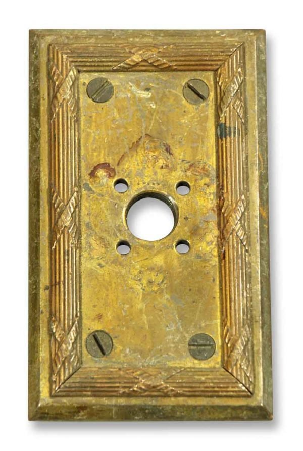 Pair of Heavy Brass Switch Covers