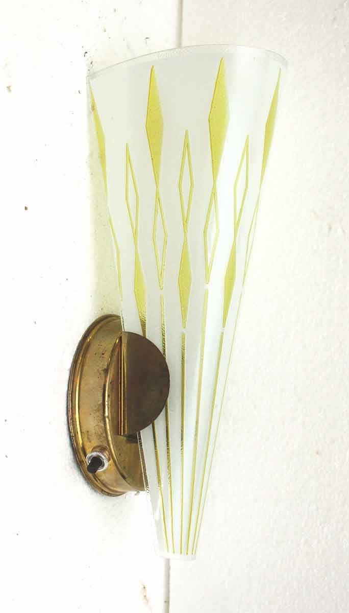 Pair Of 1950s Mid Century Modern Wall Sconces Olde Good