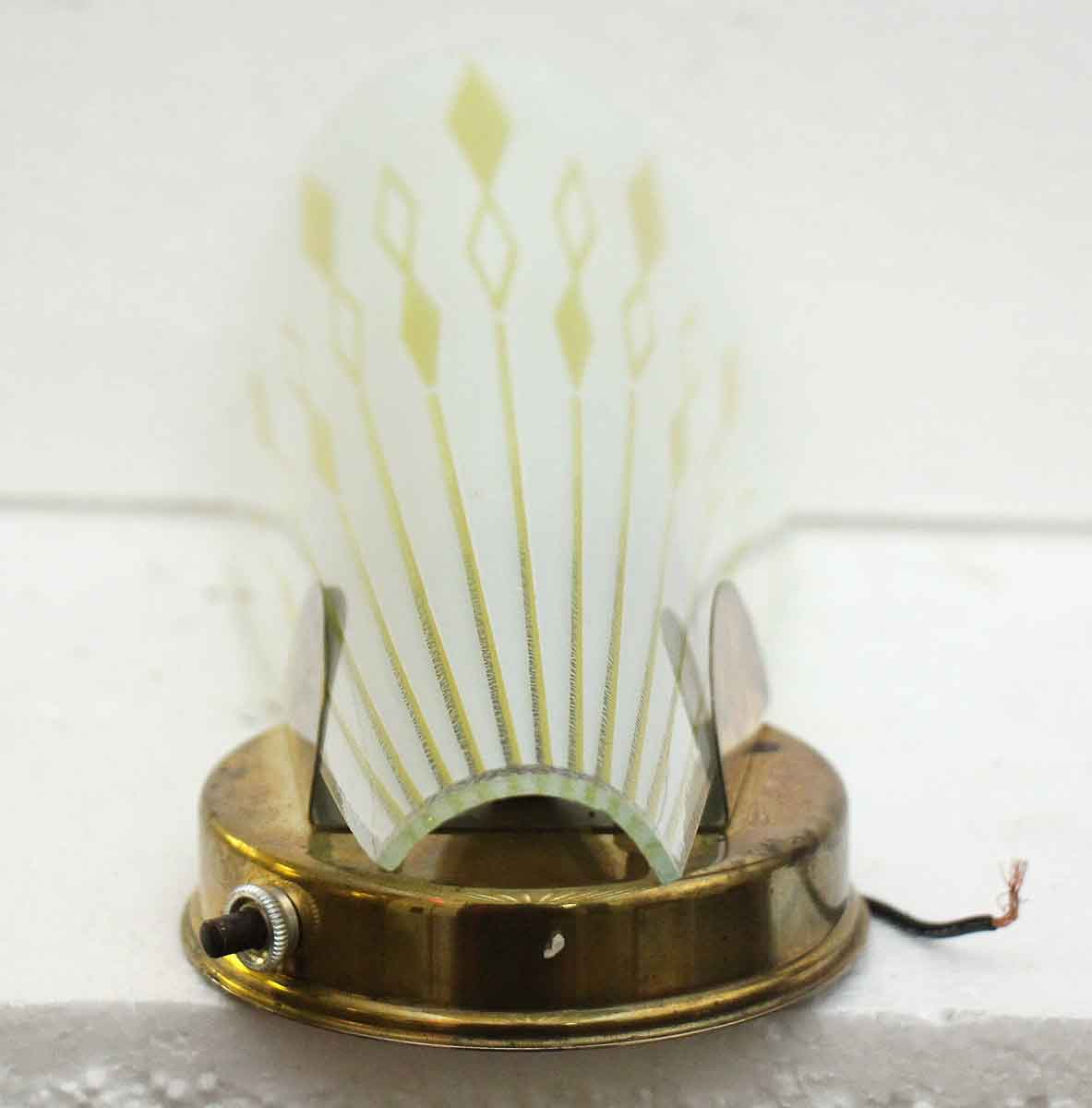 Modern Vintage Wall Sconces : Pair of 1950s Mid Century Modern Wall Sconces Olde Good Things