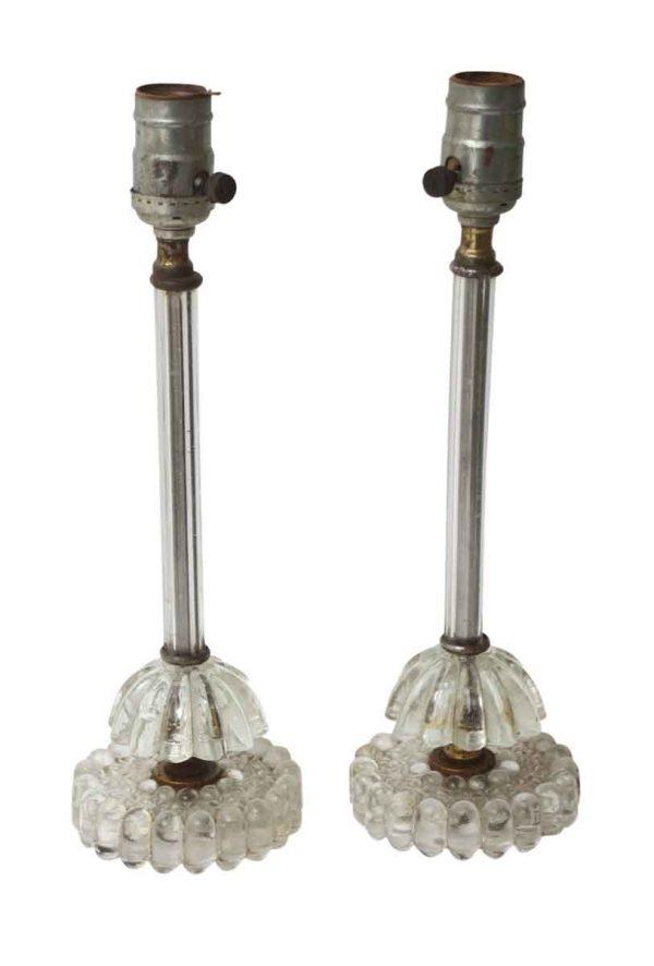 Petite Glass Vanity Lamps
