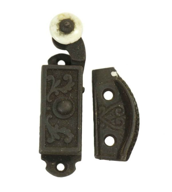Single Ornate Victorian High Profile Latch