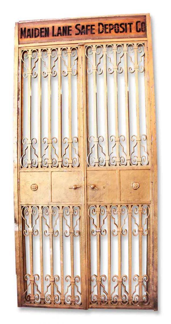 Steel Maiden Lane Safe Deposit Co. Doors