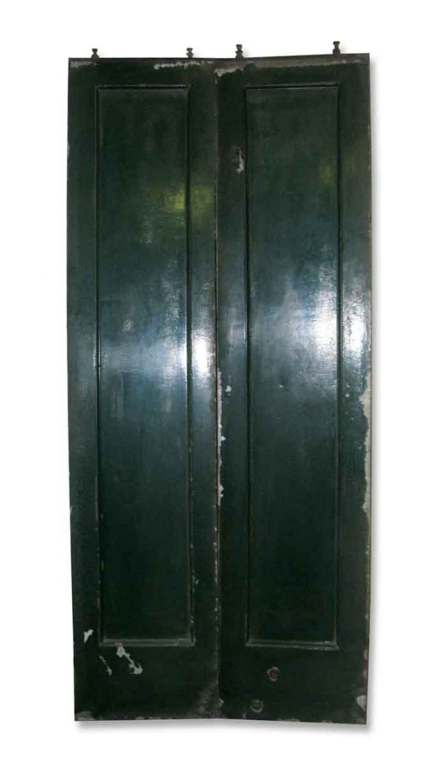 Set of Industrial Metal Elevator Doors