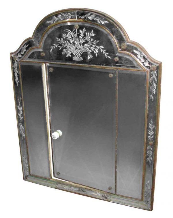 Unique Venetian Bathroom Mirror