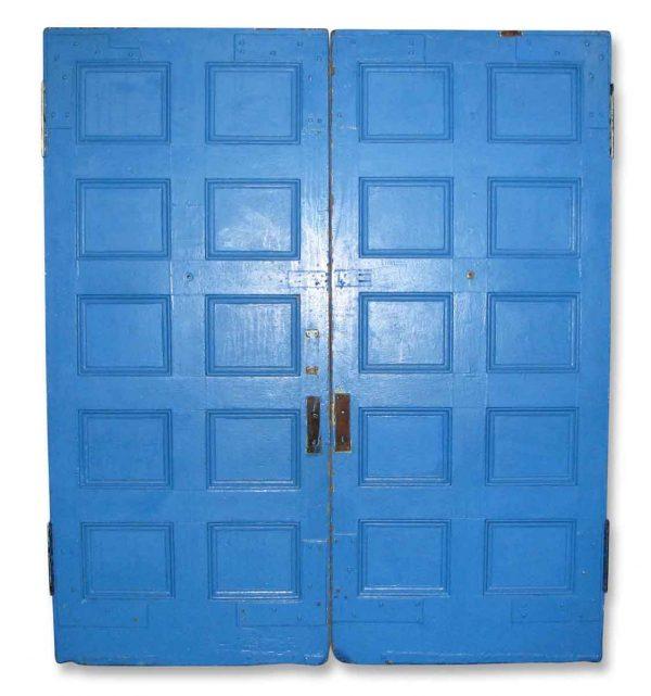Ten Panel Double Doors