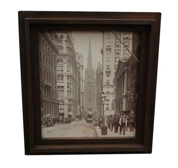 Original Nyc Photo Transferred on Canvas