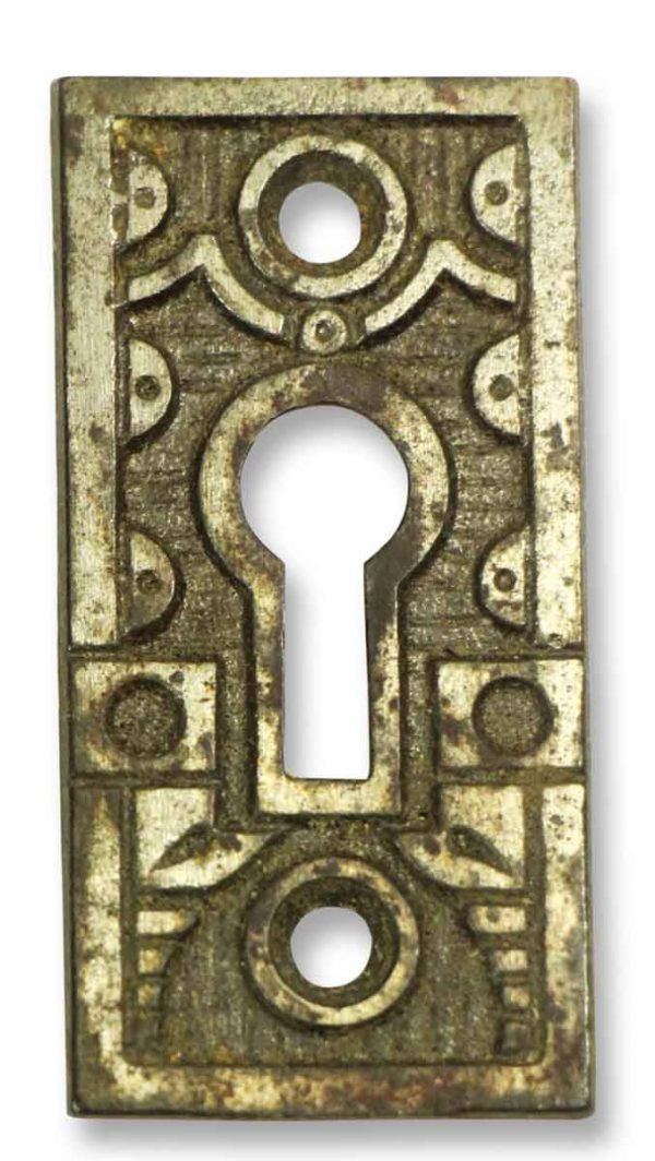 Antique Ornate Key Hole Cover