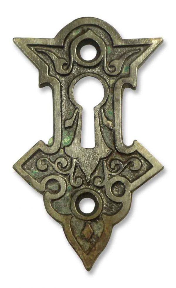 Gothic Iron Key Hole
