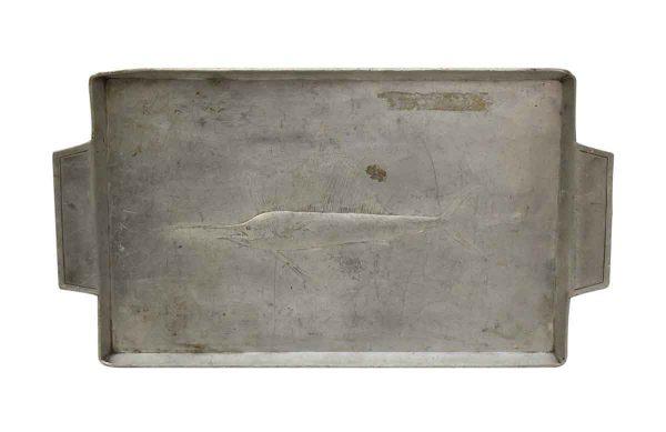1930s Silver Fish Tray