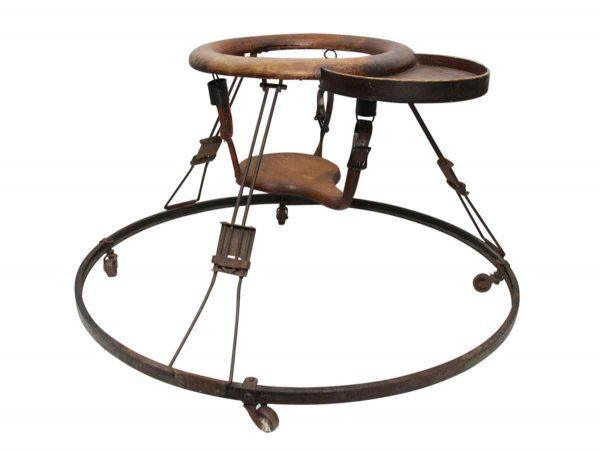 Antique Baby's Walking Trainer Seat