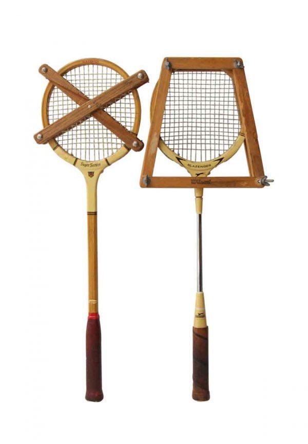 Pair of Slazenger Badminton Rackets