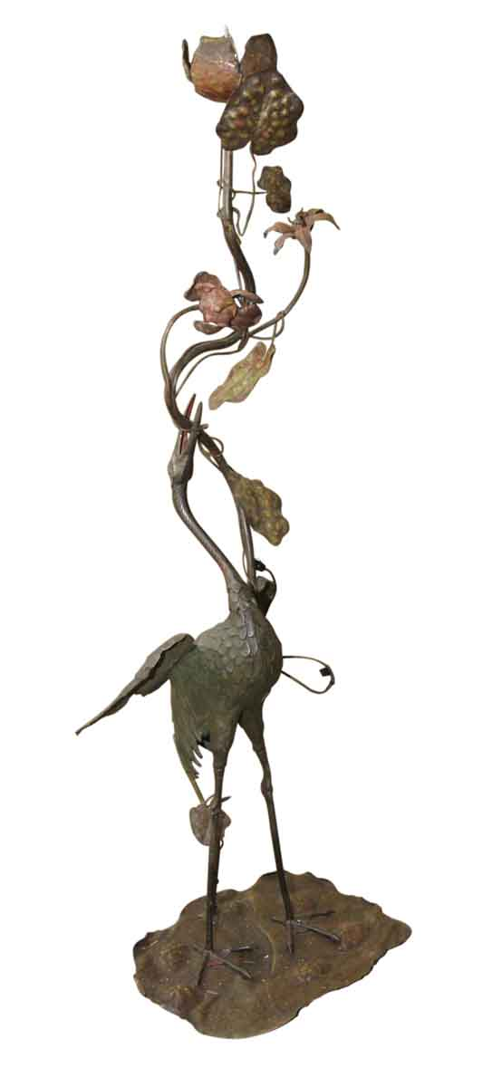 Bronze Pelican Lamp
