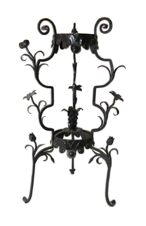 19th Century Wrought Iron Plant or Lamp Stand