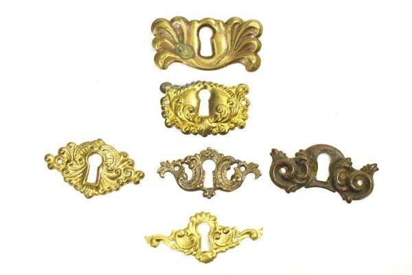 Brass Decorative Keyholes