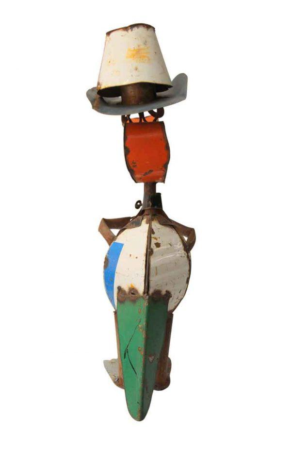 Cool Handmade Tin Lizard
