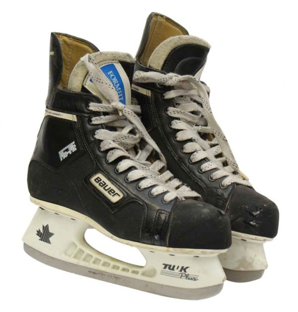 Vintage Bauer Flo-Fit Hockey Ice Skates