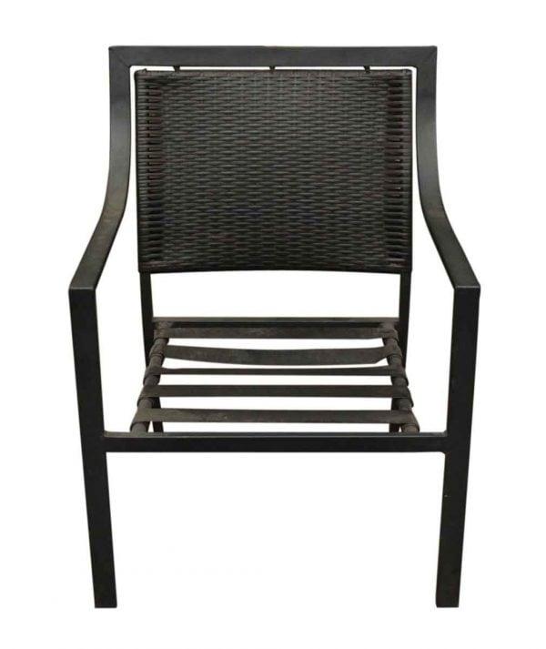 Low Slung Outdoor Metal Chair