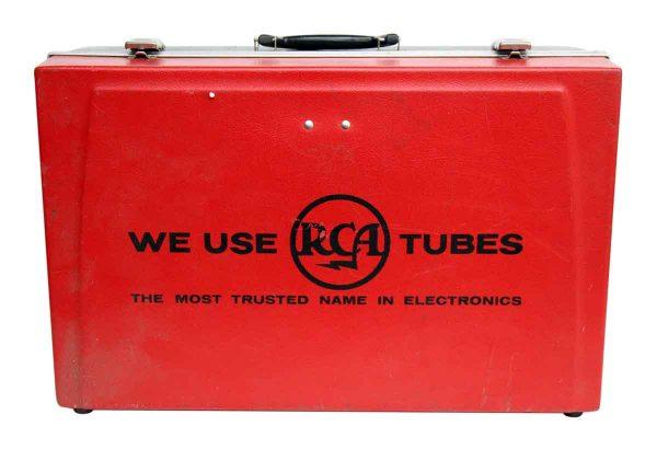 Red & Black Rca Case