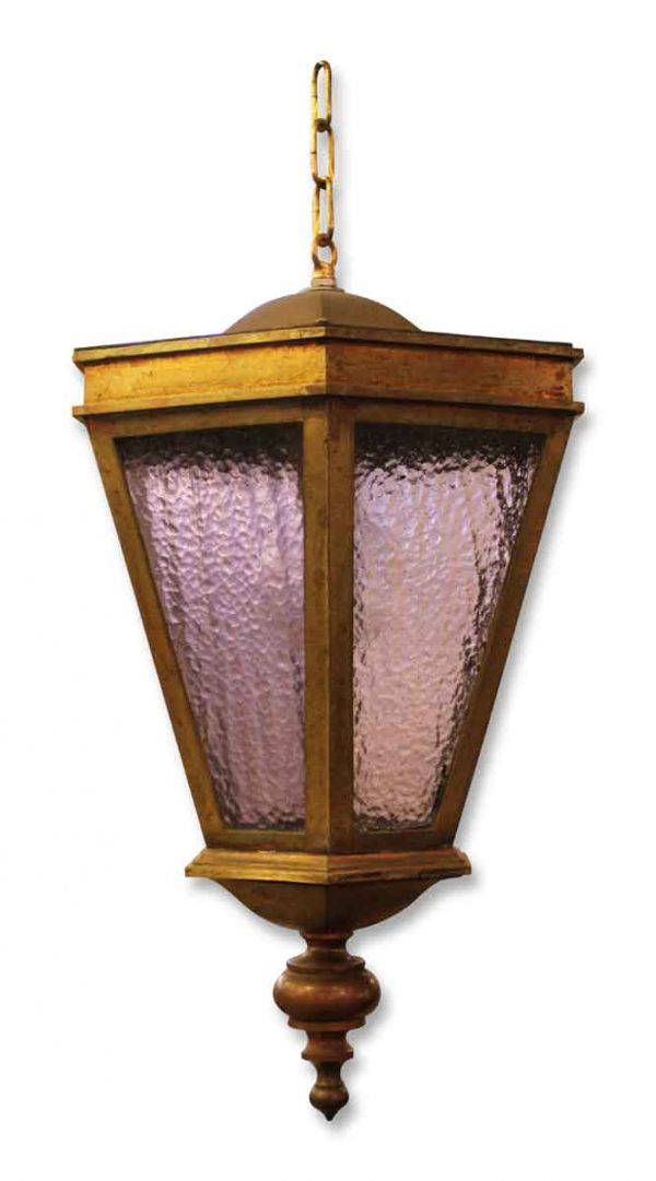 Brass Lantern Pendant Light