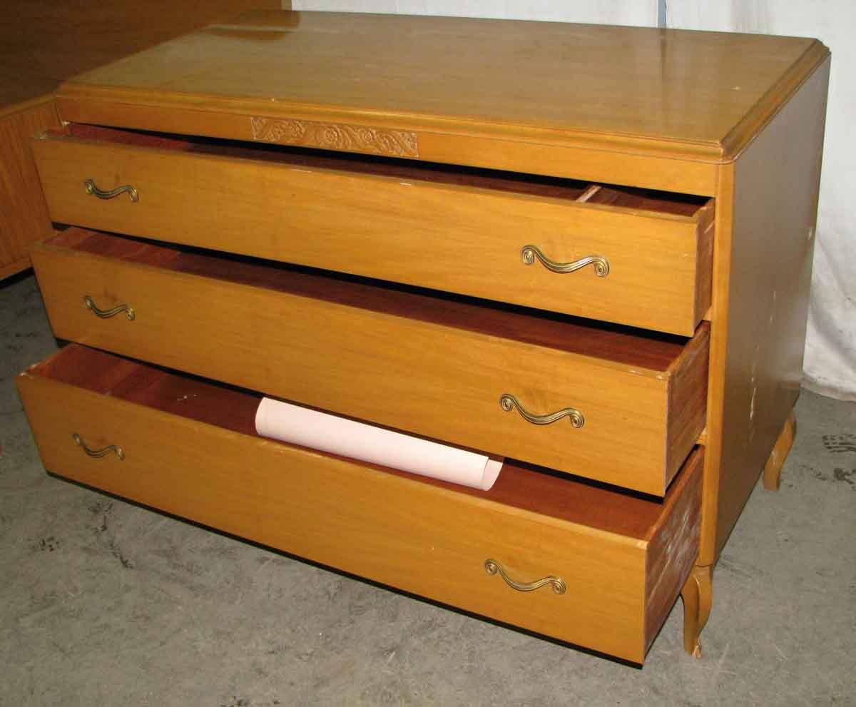 Deco 1940s Mahogany Bedroom Set