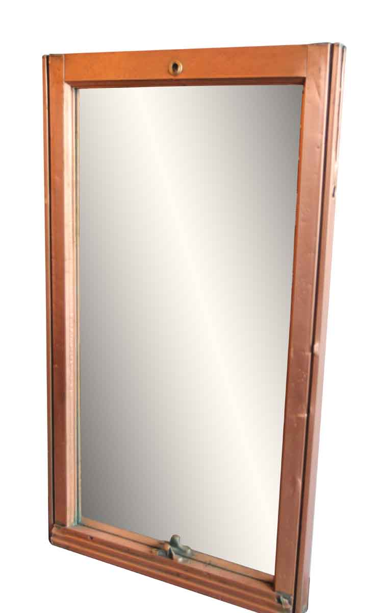 Rare Flatiron Building Copper Window Mirror | Olde Good Things