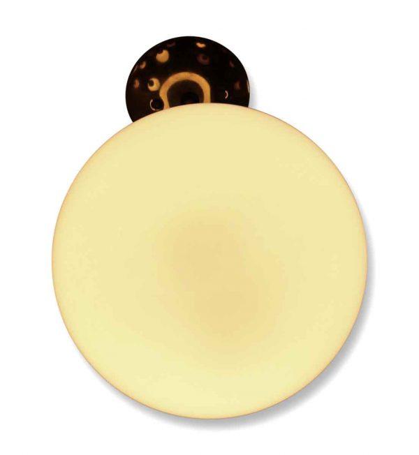 White Sphere Glass Globe