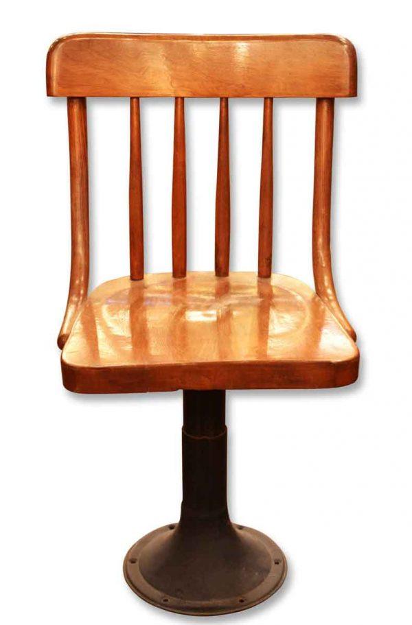Antique Wooden Schoolhouse Chair