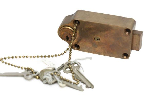 Antique Programmable Yale Bank Safe Deposit Lock