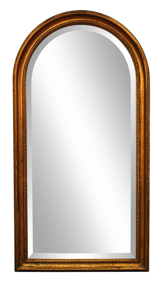 Gold Arched Framed Mirror Olde Good Things